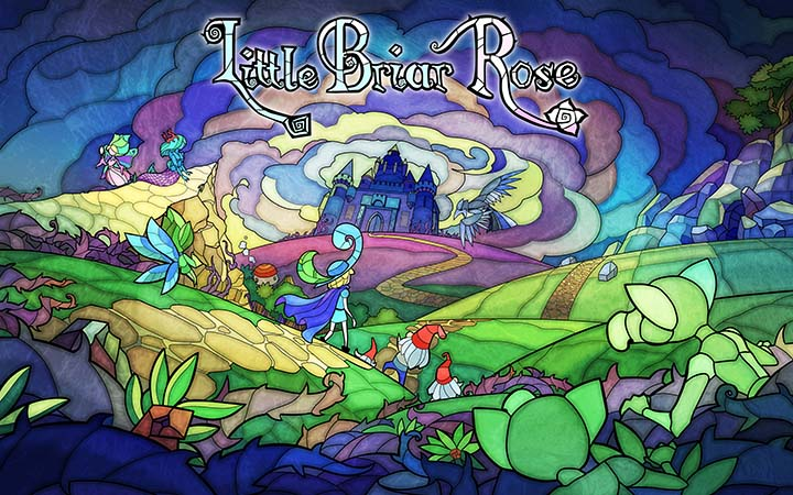 little briar rose wallpaper